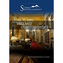 Naxos Scenic Musical Journeys England Blenheim Palace, Leeds Castle and Castle Howard
