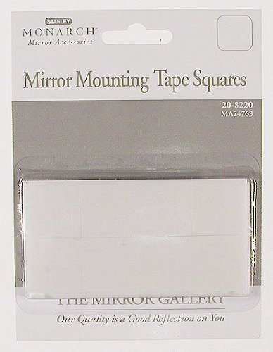 """Stanley Tools 20-8220 1"""" X 1"""" Mirror Mounting Tape Squares front-970531"""