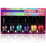 KLEANCOLOR Techno High - Metallic Nail Lacquer Mini Collection (NPC592)