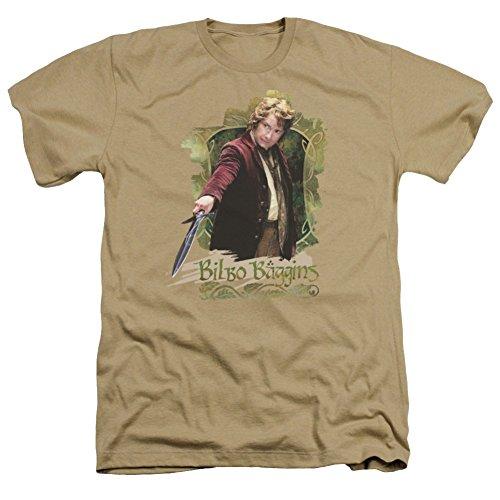 Heather: The Hobbit: An Unexpected Journey Bilbo Baggins T-Shirt HOB1002HA