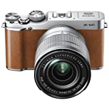 Fujifilm X-M1 Camera with XC16-50mm Lens Kit - Brown (16.3 MP) 3 inch LCD
