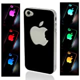 NEW Sense Flash Light Case Cover for Apple iPhone 4, 4S and 4G LED LCD Auto Color Change Reviews