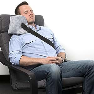 Amazon Com Travel Pillow Memory Foam Side Sleeper