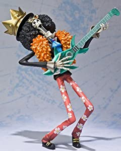 One Piece Figuarts Zero Figur / Statue: Brook 17 cm (The New World Arc Version)