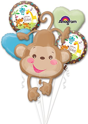 Anagram International Fisher Price Baby Package Bouquet, Multicolor