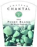 2012 Chateau Chantal Pinot Blanc 750 mL