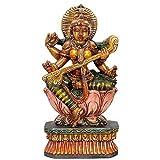 """Redbag Goddess Of """"Art & Learning"""" Wood Statue ( 58.42 Cm, 30.48 Cm, 12.7 Cm )"""