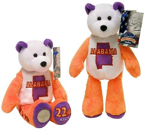 Alabama State Quarter Bear # 22