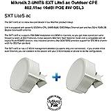 Mikrotik SXT Lite5 Ac 2-UNITS Outdoor CPE Dual-chain 802.11ac 16dBi POE 8W OSL3