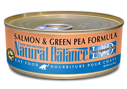 Natural Balance Limited Ingredient Diets Salmon & Green Pea Canned Cat Formula