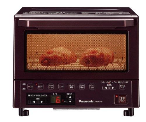 Panasonic コンパクトオーブン ブラウン NB-DT50-T