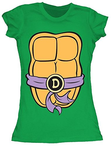 Teenage Mutant Ninja Turtles Juniors Donatello Costume T-shirt S (Girls Ninja Turtle Costume compare prices)