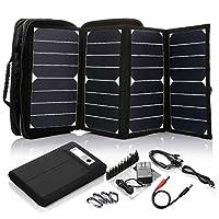 ECEEN® 26 Watts Foldable Solar Panel Po...