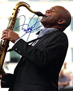 Branford Marsalis Autographed Jazz Man Signed Photo - Autographed NBA Photos by Sports Memorabilia