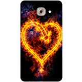 Designer Case For Samsung Galaxy On Max / Back Cover For Samsung Galaxy On Max / Samsung Galaxy On Max Back / Printed Case For Samsung Galaxy On Max (Love, Heart, Fire, Dil, Love, Cute, Apple, Funny, Cartoon, Quote)