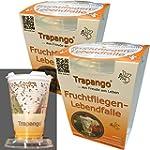 2x Fruchtfliegen-Lebendfalle Trapango...