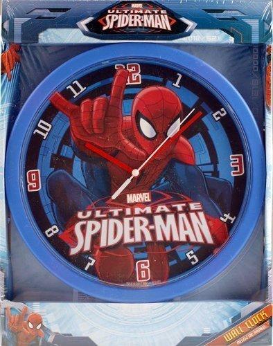 horloge-mural-spiderman-pour-chambre-de-garcon