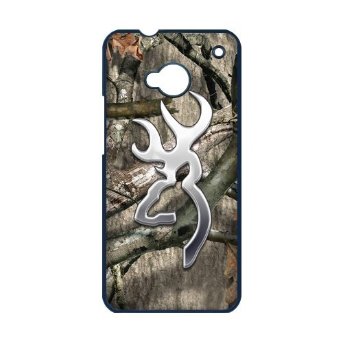 Browning Cutter Logo Camo Htc One M7 Perfect Color Match Cover Case For Fans