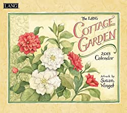 Cottage Garden 2013 Wall Calendar
