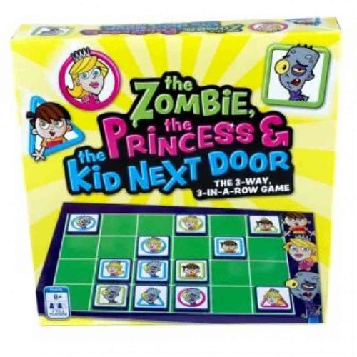 The Zombie, The Princess and The Kid Next Door