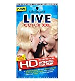 Now in HD,, Absolute Platinum offers extra long-lasting, intense blonde and amazing shine, so you can show off your inner confidence with ease. The LIVE Color XXL HD incorporates a highly efficient lightening booster to lightens your colour u...