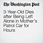 3-Year-Old Dies after Being Left Alone in Mother's Patrol Car for Hours | Amy B Wang