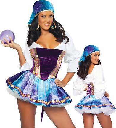 3WISHES 'Exotic Gypsy Costume' Sexy Gypsy Halloween Costumes for Women
