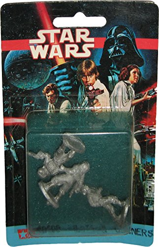 Vintage 1993 West End Games Star Wars Pilots and Gunners Pewter Miniature #40408 (Vintage Imperial Gunner compare prices)
