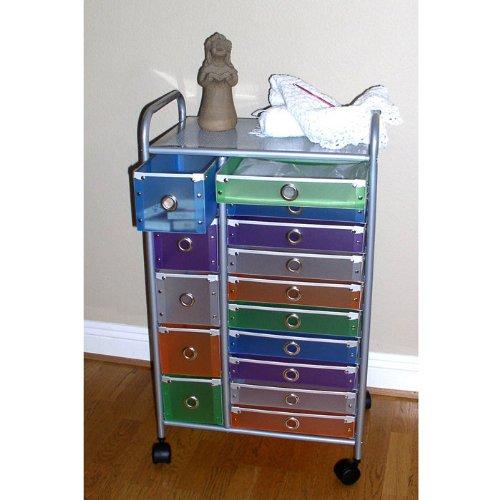 15 Drawer Rolling Storage front-1067322