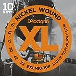 D'Addario EXL140-10P Nickel Wound Ele...