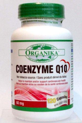 Organika Coenzyme Q10, 60 Mg, 120 Capsules