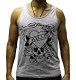 Ed Hardy 'Love Kills Slowly' Graphic Vest New Cutting Edge Collection
