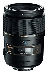 Tamron AF 90mm f/2.8 Di SP A/M 1:1 Macro Lens for Canon Digital SLR Cameras