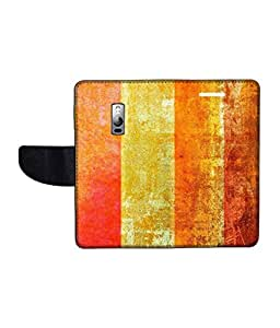 KolorEdge Printed Flip Cover For One Plus 2 Multicolor - (1479-55KeMLogo11826OnePlus2)