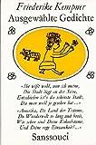 Ausgewählte Gedichte : Aus d. Liederschatz d.