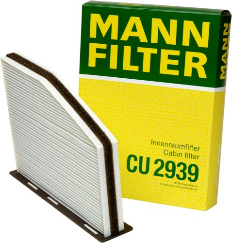 Mann-Filter CU 2939 Cabin Filter for select  Audi/ Volkswagen models