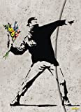 "Banksy ""Flower Bomber"" (1601609345) by Banksy"