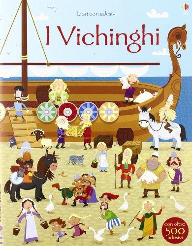 I vichinghi Con adesivi PDF