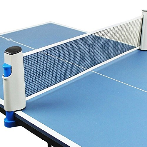 Fantastic Deal! KLOUD City®Portable Retractable Table Tennis Net Rack/Replacement Ping Pong Accesso...