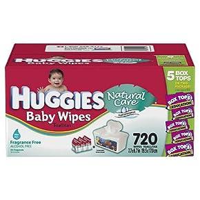 Huggies natural care baby wipes fragrance free skin deep