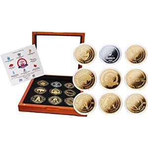 Highland Mint AFL 50th Anniversary Coin Set