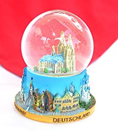 Souvenir Snowdome Snowglobe Germany Deutschland Köln Cologne Cathedral S-96mm