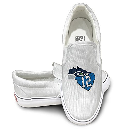 HYRONE-Seattle-12-Seahawks-Fashion-Sneakers-Shoes-Baseball-White