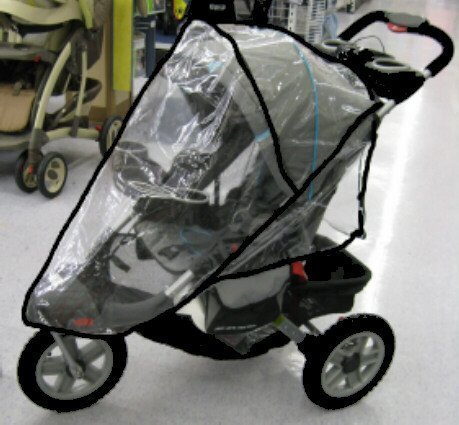 sasha-kiddie-je01r-jeep-liberty-sport-limited-single-stroller-rain-and-wind-cover-stroller-not-inclu