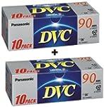 2X Panasonic DVM60FE10 60 Minute Mini...