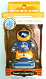 Toy! ''Super mini robot'' (Light) radio control, robot exciting battle game