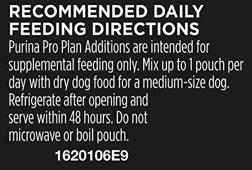 Purina Pro Plan Meal Enhancements for Dogs, Savor Additions Beef & Carrot Puree, 3.2-Ounce Pouch, Pack of 14_Image3