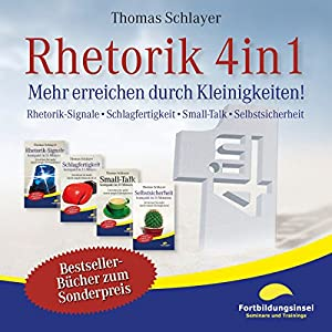 Rhetorik 4in1 Hörbuch