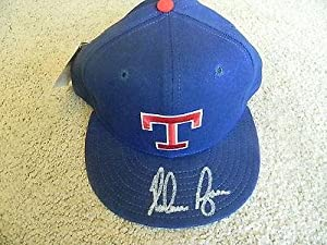 NOLAN RYAN AUTOGRAPHED TEXAS RANGERS HAT COA and Hologram - PSA DNA Certified -... by Sports Memorabilia