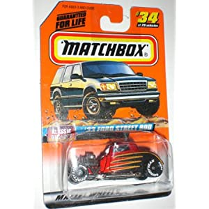 Matchbox 1997 Series 5 Classic Decades 1:58 33 Ford Street Rod 34 1:64 Scale